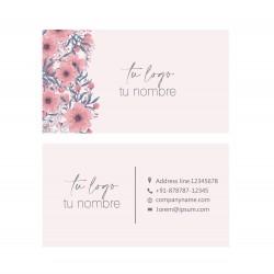 Tarjeta floral 01