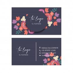 Tarjeta floral 02