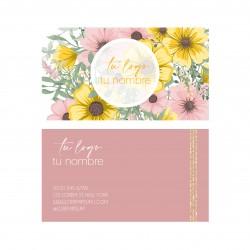 Tarjeta floral 03