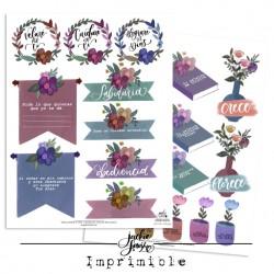 Colección Floral Vintage